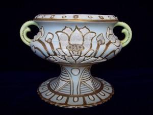 友人達から送られたコラレン壺
